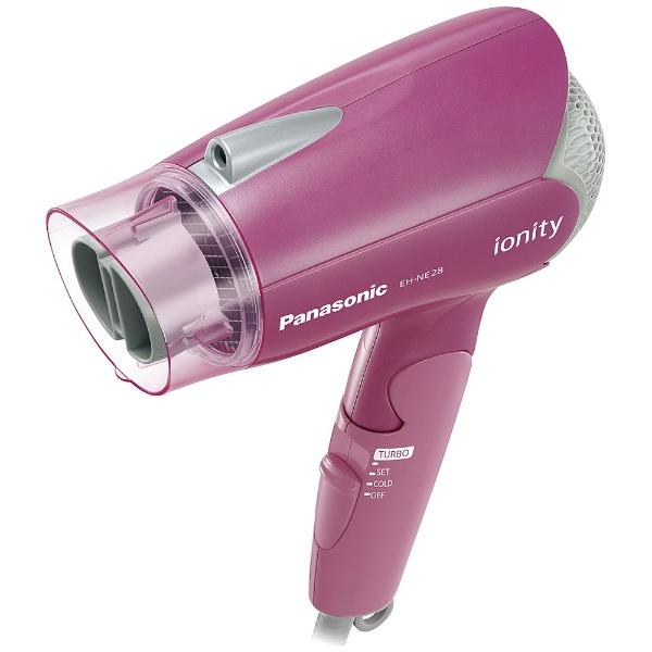 マイナスイオンヘアードライヤー 「イオニティ」(1200W) EH-NE28-P ピンク