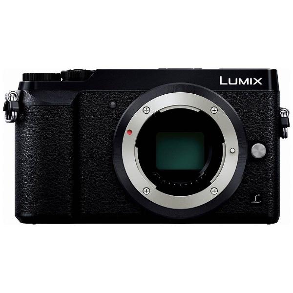 LUMIX GX7 Mark II【ボディ(レンズ別売)】DMC-GX7MK2-K(ブラック/ミラーレス一眼カメラ)