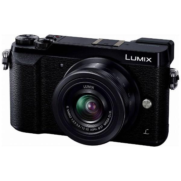 LUMIX GX7 Mark II【標準ズームレンズキット】DMC-GX7MK2K-K(ブラック/ミラーレス一眼カメラ)