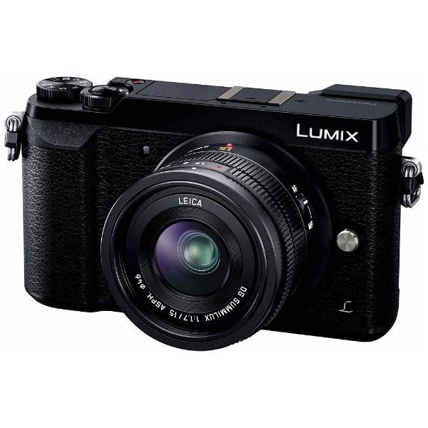 LUMIX GX7 Mark II【単焦点ライカDGレンズキット】DMC-GX7MK2L-K(ブラック/ミラーレス一眼カメラ)