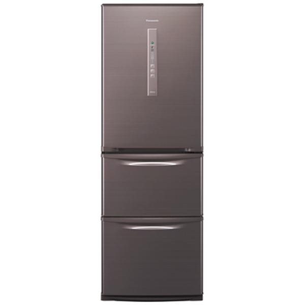 3ドア冷蔵庫 (365L) NR-C37EM-T シルキーブラウン