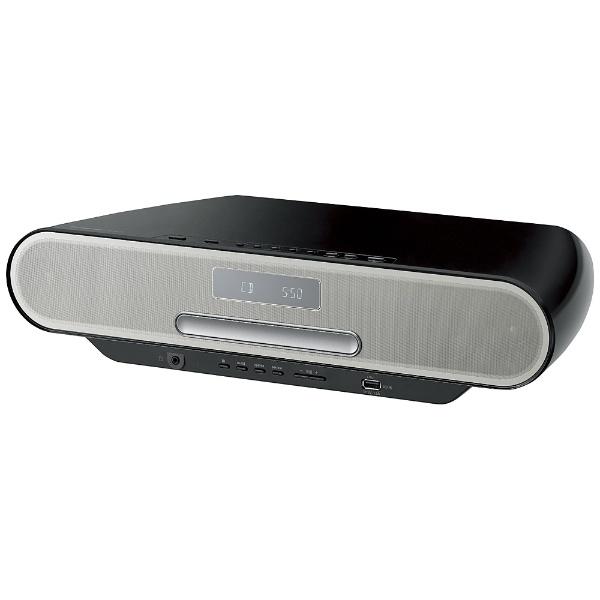 【ハイレゾ音源対応】Bluetooth対応 コンパクトステレオシステム (ブラック) SC-RS55-K【ワイドFM対応】