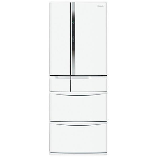 6ドア冷蔵庫 (451L) NR-FV45S1-W クラフトホワイト
