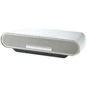 【ハイレゾ音源対応】Bluetooth/WiFi対応 コンパクトステレオシステム (ホワイト) SC-RS75-W【ワイドFM対応】