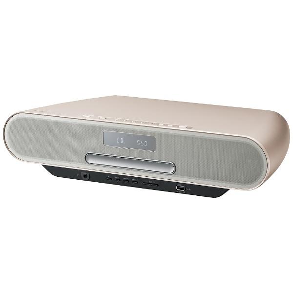 【ハイレゾ音源対応】Bluetooth対応 コンパクトステレオシステム (ウォームゴールド) SC-RS55-N【ワイドFM対応】