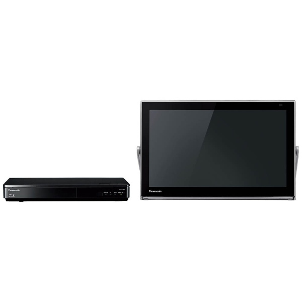 15V型 地上・BS・110度CS対応 ブルーレイディスクプレーヤー付ポータブルテレビ プライベートビエラ UN-15TD6-K ブラック (500GB内蔵HDDレコーダー付)