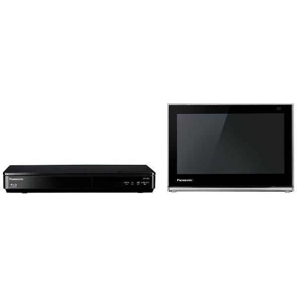10V型 地上・BS・110度CS対応 ブルーレイディスクプレーヤー付ポータブルテレビ プライベートビエラ UN-10D6-K ブラック (チューナーセパレート)