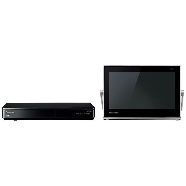 10V型 地上・BS・110度CS対応 ブルーレイディスクプレーヤー付ポータブルテレビ プライベートビエラ UN-10TD6-K ブラック (500GB内蔵HDDレコーダー付)