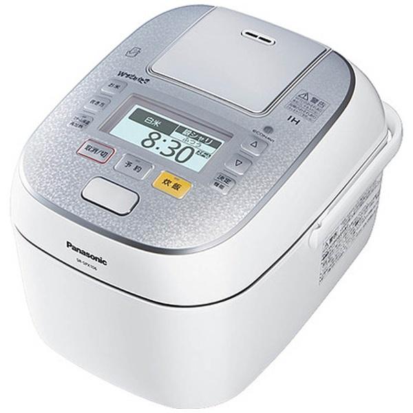 可変圧力スチームIHジャー炊飯器 「Wおどり炊き」(5.5合) SR-SPX106-W スノークリスタルホワイト