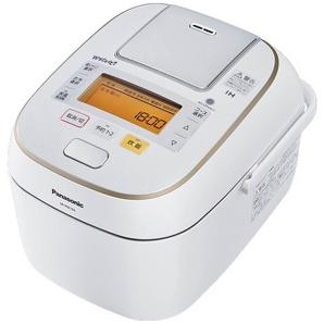可変圧力IHジャー炊飯器 「Wおどり炊き」(5.5合) SR-PW106-W スノークリスタルホワイト