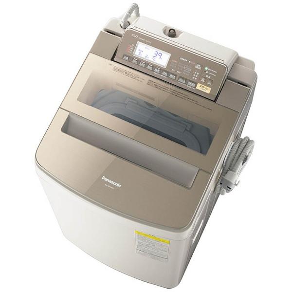 洗濯乾燥機 (洗濯10.0kg/乾燥5.0kg) NA-FW100S3-T ブラウン 【洗濯槽自動お掃除・ヒーター乾燥機能付】