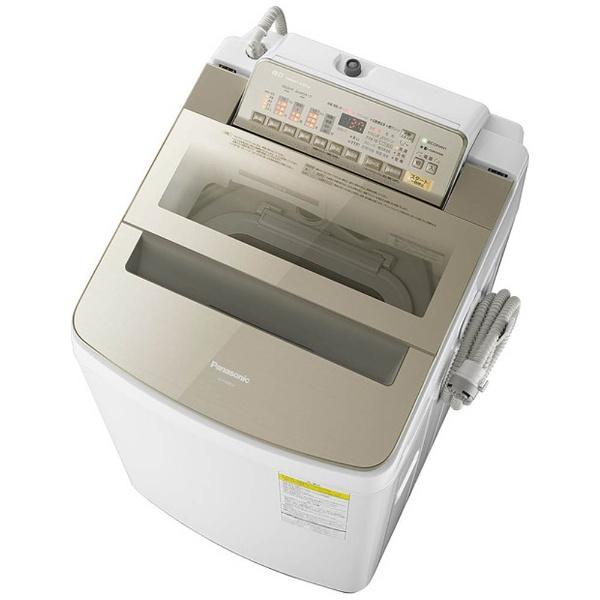 洗濯乾燥機 (洗濯8.0kg/乾燥4.5kg) NA-FW80S3-N シャンパン 【洗濯槽自動お掃除・ヒーター乾燥機能付】