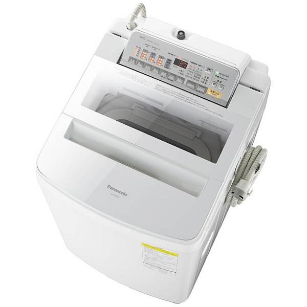 洗濯乾燥機 (洗濯8.0kg/乾燥4.5kg) NA-FW80S3-W ホワイト 【洗濯槽自動お掃除・ヒーター乾燥機能付】