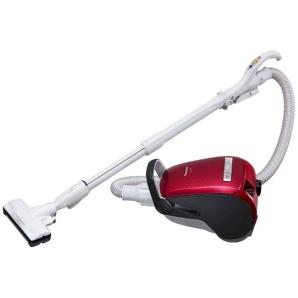 【自走式ブラシ搭載】 紙パック式掃除機 MC-PA36G-R クラシックレッド【日本製】