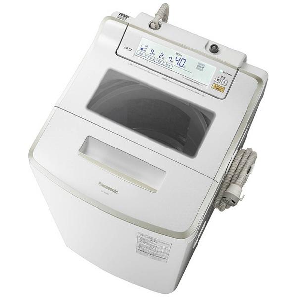 全自動洗濯機 (洗濯8.0kg)「Jコンセプト」 NA-JFA802-W クリスタルホワイト