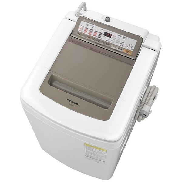 洗濯乾燥機 (洗濯8.0kg/乾燥4.5kg) NA-FD80H3-N シャンパン 【洗濯槽自動お掃除・ヒーター乾燥機能付】
