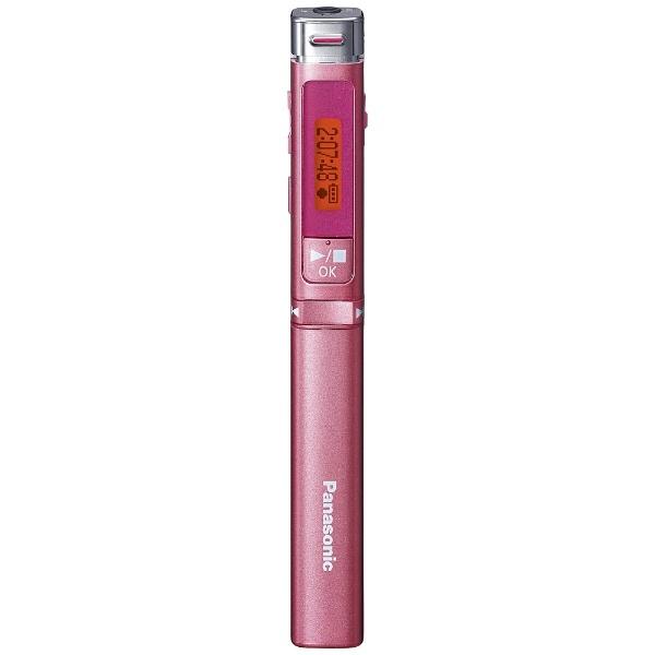 リニアPCMレコーダー【4GB】(ピンク) RR-XP008 P