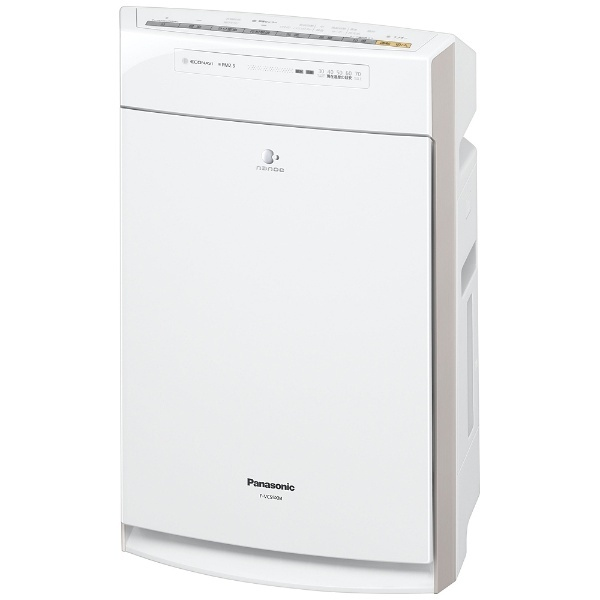加湿空気清浄機 (空気清浄:~25畳/加湿:~14畳) F-VC55XM-W ホワイト [ナノイー搭載・PM2.5対応]