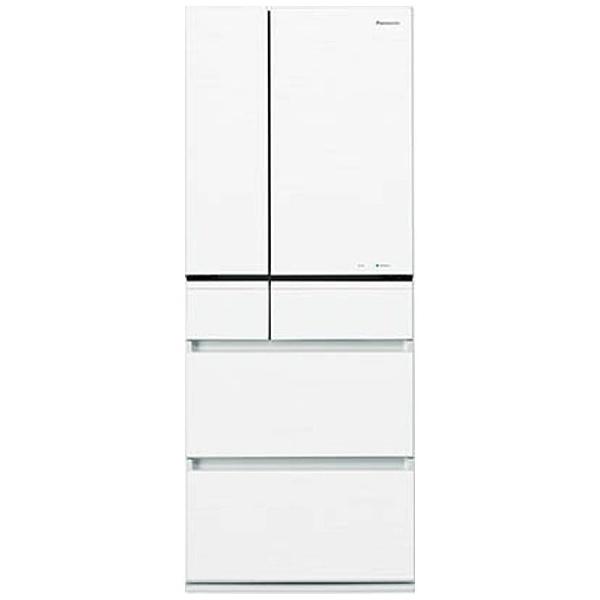 6ドア冷蔵庫 (470L) NR-F472PV-W スノーホワイト 「PVタイプ」