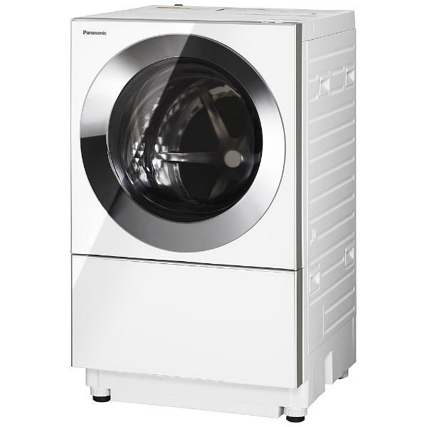 [左開き] ドラム式洗濯乾燥機 (洗濯10.0kg/乾燥3.0kg)「キューブル」 NA-VG1100L-S クロームメタル 【洗濯槽自動お掃除・ヒーター乾燥機能付】