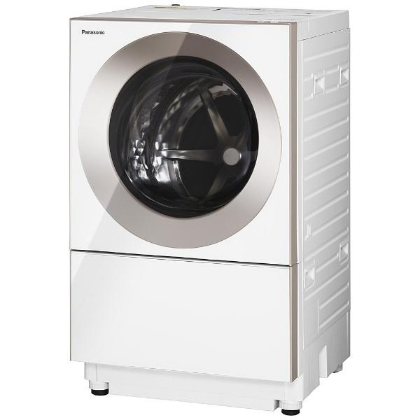[左開き] ドラム式洗濯乾燥機 (洗濯10.0kg/乾燥3.0kg)「キューブル」 NA-VG1100L-P ピンクゴールド 【洗濯槽自動お掃除・ヒーター乾燥機能付】