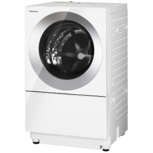 [左開き] ドラム式洗濯乾燥機 (洗濯7.0kg/乾燥3.0kg)「キューブル」 NA-VG710L-S アルマイトシルバー 【洗濯槽自動お掃除・ヒーター乾燥機能付】