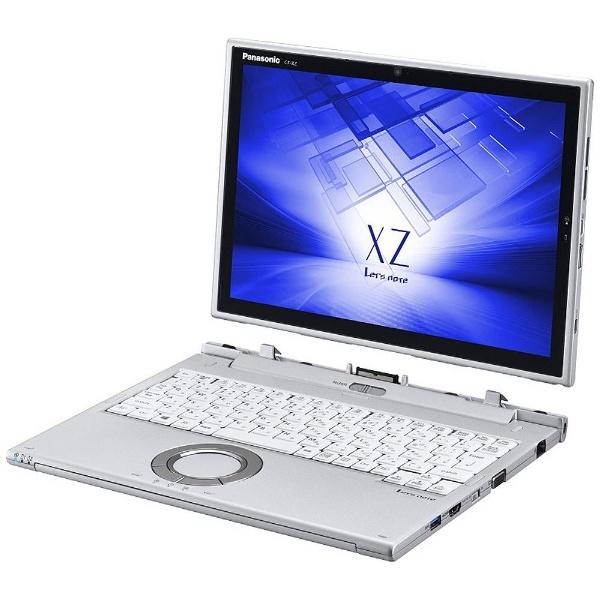 12型タッチ対応ノートPC[Office付き・Win10 Pro・Core i5・SSD256GB・メモリ8GB] Let's note XZシリーズ シルバー CF-XZ6HDBQR (2017年春モデル)