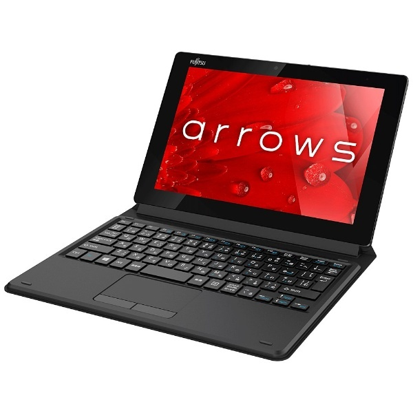 Windows 10タブレット[10.1型・Atomx5・eMMC 128GB・メモリ 2GB] arrows Tab QH35/B1 ブラック FARQ35B1B (2017年春モデル)