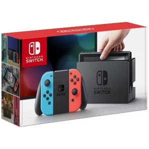 Nintendo Switch Joy-Con(L) ネオンブルー/® ネオンレッド(ニンテンドースイッチ) [ゲーム機本体]