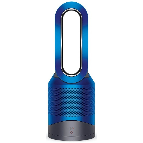 【DCモーター搭載】 リモコン・空気清浄機能付ファンヒーター 「Dyson Pure Hot + Cool Link」(~8畳) HP03IB アイアン/ブルー
