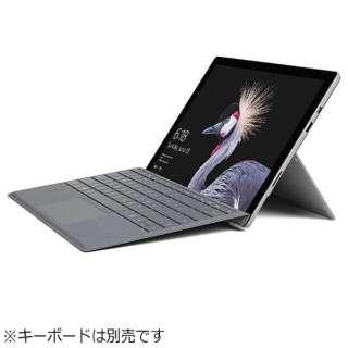 キーボード別売「Surface Pro(Core m3/128GB/4GB/ペン非同梱モデル)」 Windowsタブレット[Office付き・12.3型] FJR-00014 (2017年モデル・シルバー)