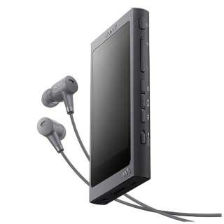 【ハイレゾ音源対応】デジタルオーディオプレーヤー ウォークマン WALKMAN Aシリーズ 2017年モデル(グレイッシュブラック/32GB) NW-A46HN BM