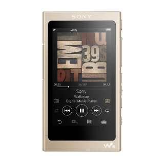 【ハイレゾ音源対応】デジタルオーディオプレーヤー ウォークマン WALKMAN Aシリーズ 2017年モデル(ペールゴールド/64GB) NW-A47 NM[イヤホンは付属していません]