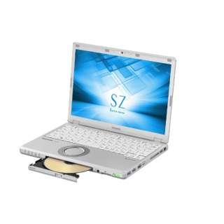 12.1型ノートPC[Office付き・Win10 Home・Core i5・HDD 1TB・メモリ 8GB] レッツノート SZ シルバー CF-SZ6PDKPR (2017年秋冬モデル)