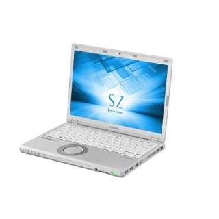 12.1型ノートPC[Office付き・Win10 Pro・Core i5・SSD 256GB・メモリ 8GB] レッツノート SZ シルバー CF-SZ6PDYQR (2017年秋冬モデル)