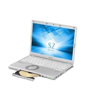 12.1型ノートPC[Office付き・Win10 Pro・Core i7・SSD 128GB+HDD 1TB・メモリ 8GB] レッツノート SZ シルバー CF-SZ6QDAQR (2017年秋冬モデル)