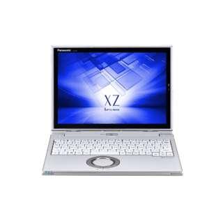 12型タッチ対応ノートPC[Office付き・Win10 Home・Core i5・SSD 128GB・メモリ 8GB] レッツノート XZ シルバー CF-XZ6PDAPR (2017年秋冬モデル)