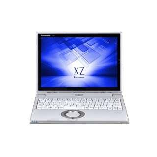 12型タッチ対応ノートPC[Office付き・Win10 Pro・Core i5・SSD 256GB・メモリ 8GB] レッツノート XZ シルバー CF-XZ6PDCQR (2017年秋冬モデル)
