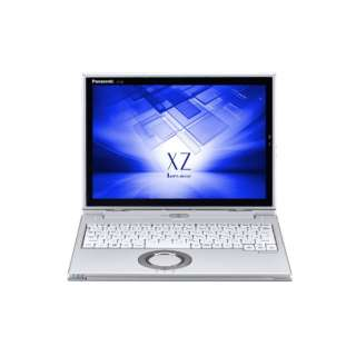 【LTE対応 SIMフリー】12型タッチ対応ノートPC[Office付き・Win10 Pro・Core i5・SSD 256GB・メモリ 8GB・Nano SIM対応] レッツノート XZ シルバー CF-XZ6PFKQR (2017年秋冬モデル)