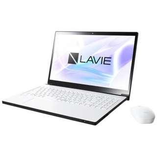 15.6型ワイドノートPC LAVIE Note NEXT[Office付き・Win10]PC-NX850JAW(2017年10月モデル・グレイスホワイト)