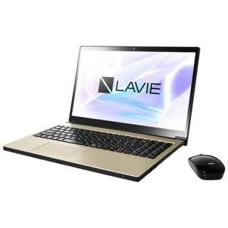 15.6型ワイドノートPC LAVIE Note NEXT[Office付き・Win10]PC-NX550JAG(2017年10月モデル・グレイスゴールド)