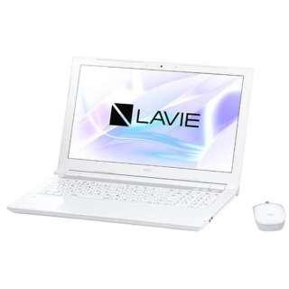 15.6型ワイドノートPC LAVIE Note Standard[Office付き・Win10]PC-NS700JAW(2017年10月モデル・エクストラホワイト)