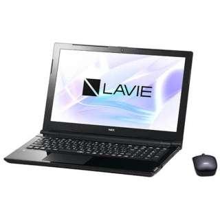 15.6型ワイドノートPC LAVIE Note Standard[Office付き・Win10]PC-NS700JAB(2017年10月モデル・スターリーブラック)