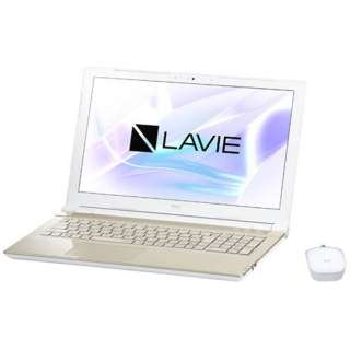 15.6型ワイドノートPC LAVIE Note Standard[Office付き・Win10]PC-NS700JAG(2017年10月モデル・シャンパンゴールド)