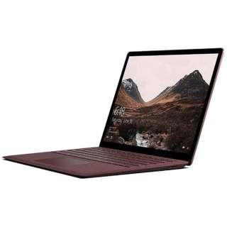 13.5型タッチ対応ノートPC[Office付き・Win10 S・Intel Core i7・SSD 256GB・メモリ 8GB]Surface Laptop バーガンディ DAJ-00058