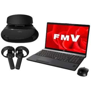 15.6型ノートPC[Office付き・Win10 Home・Core i7・HDD 1TB・メモリ 8GB] LIFEBOOK AH-MR/B3 ブライトブラック FMVAMRB3B(2017年秋冬モデル)