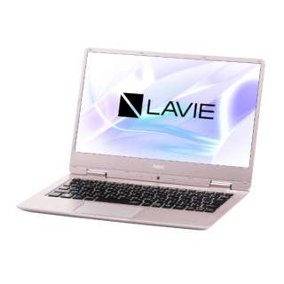 LAVIE Note Mobile 12.5型ノートPC[Office付き・Win10 Home・Core m3・SSD 128GB・メモリ 4GB]2018年春モデル PC-NM350KAG メタリックピンク