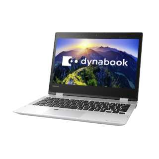 dynabook V62/FS 12.5型タッチ対応ノートPC[Office付き・Win10 Home・Core i3・SSD 256GB・メモリ 4GB]2018年春モデル PV62FSP-NEA プレシャスシルバー