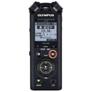 リニアPCMレコーダー LS-P4BLK ブラック [Bluetooth対応 /8GB /ハイレゾ対応]