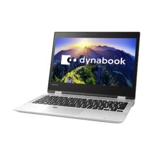 dynabook V82/FS 12.5型タッチ対応ノートPC[Office付き・Win10 Home・Core i7・SSD 512GB・メモリ 8GB]2018年春モデル PV82FSP-NEA プレシャスシルバー